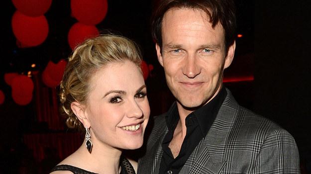 Szczęśliwi rodzice - Anna Paquin i Stephen Moyer /Jason Merritt /Getty Images