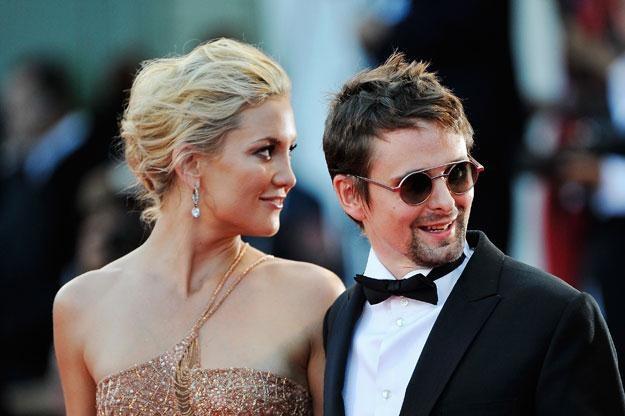 Szczęśliwi rodzice Kate Hudson i Matt Bellamy fot. Pascal Le Segretain /Getty Images/Flash Press Media