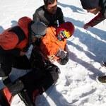 Szczęśliwy finał akcji ratowniczej na Latoku I. Uratowano wspinacza z Rosji