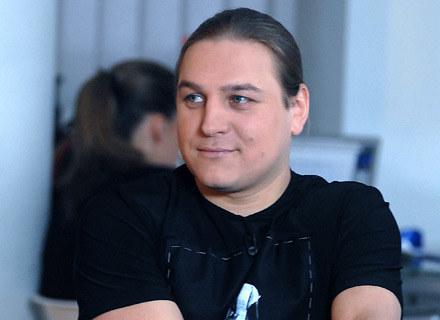 Szczęśliwy tata Łukasz Golec /MWMedia