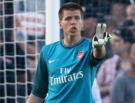 Szczęsny ma duże ambicje piłkarskie. Chce być numerem 1 Arsenalu /ASInfo