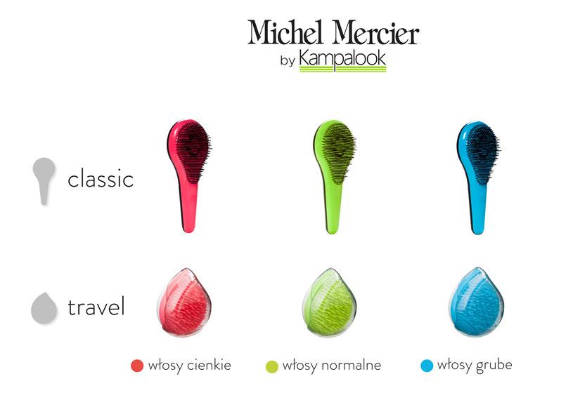 Szczotki do włosów Michel Mercier /materiały prasowe