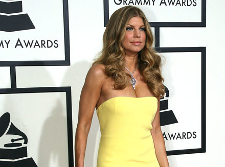 Szczupła Fergie na gali Grammy /arch. AFP