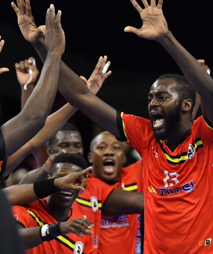 Szczypiorniści Angoli szaleli z radości po pokonaniu Kataru /PAP/EPA