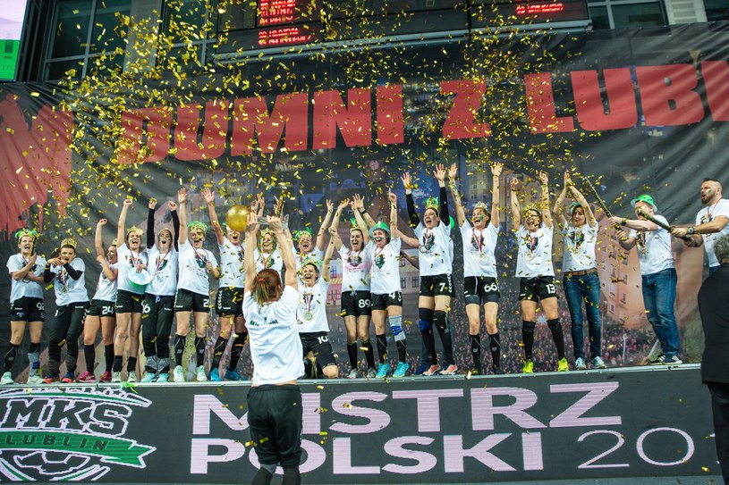 Szczypiornistki z Lublina ponownie okazały się najlepsze w Polsce /Fot. Piotr Dziurman/REPORTER /East News