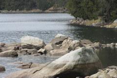 Szczyrbskie Jezioro wysycha