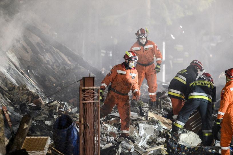Szczyrk; wybuch gazu /Łukasz Kalinowski /East News