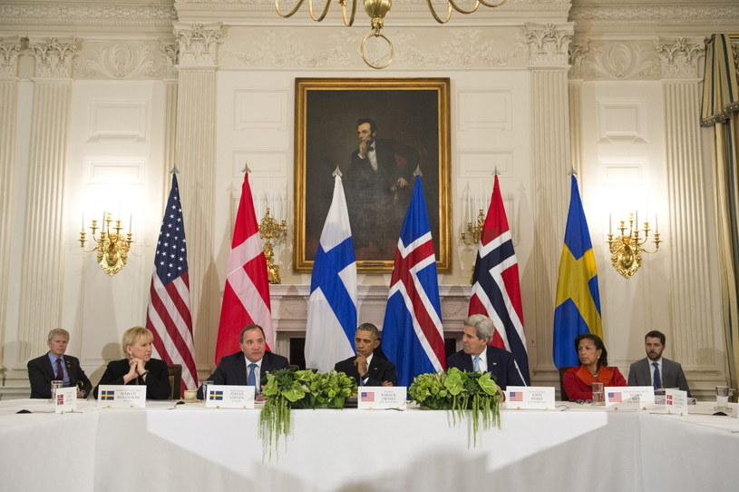 Szczyt amerykańsko-nordycki /EPA/KEVIN DIETSCH / POOL /PAP/EPA