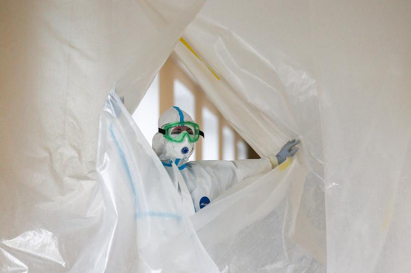 Szczyt epidemii jeszcze przed nami, zdj. ilustracyjne / Sergei Bobylev/TASS /Getty Images