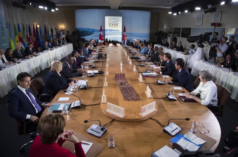Szczyt G7 /IAN LANGSDON/POOL /PAP/EPA