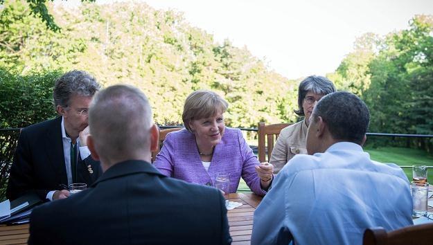 Szczyt G8 odbył się w Camp David /AFP