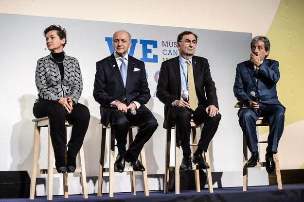 Szczyt klimatyczny w Paryżu /PAP/EPA
