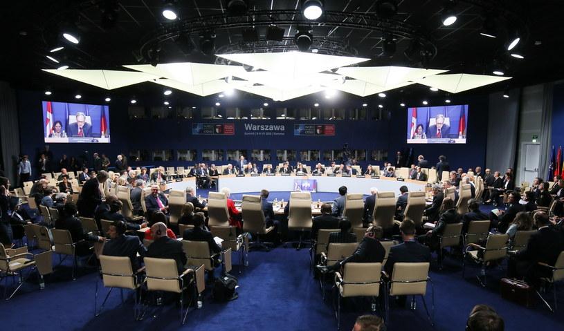 Szczyt NATO-Gruzja /Paweł Supernak /PAP