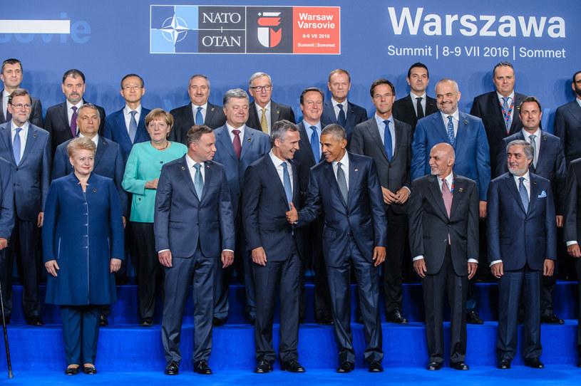 Szczyt NATO w Warszawie, jeden z sukcesów polskiej dyplomacji. /Tomasz Urbanek /East News