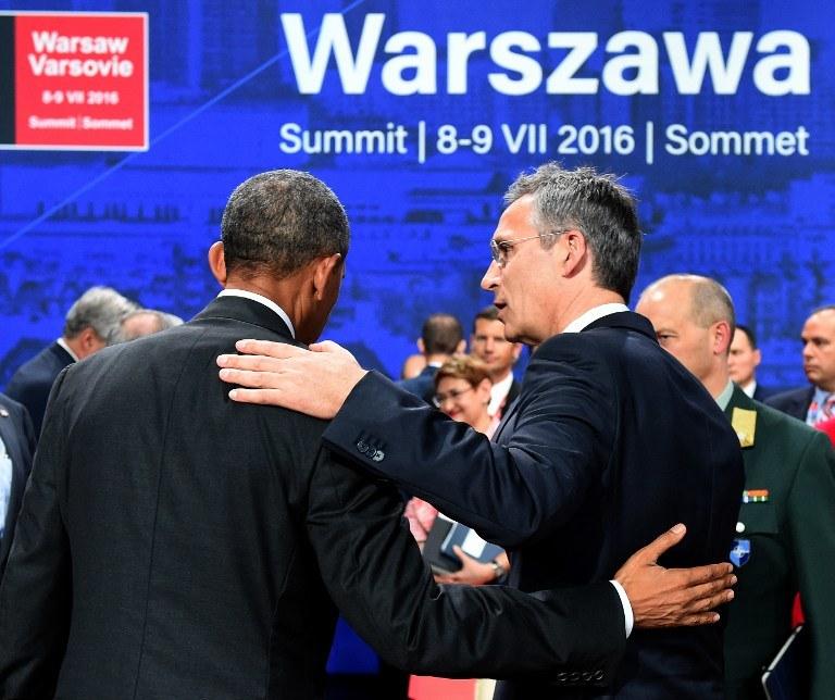 Szczyt NATO w Warszawie /AFP