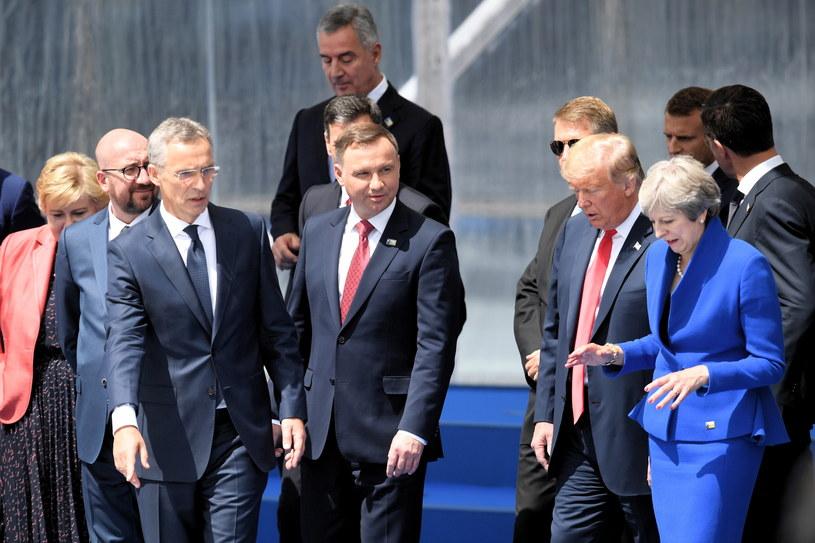 Szczyt NATO /Radek Pietruszka /PAP
