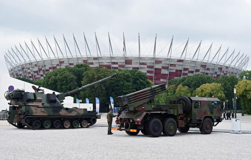 Szczyt odbywa się na Stadionie Narodowym /Rainer Jensen /PAP