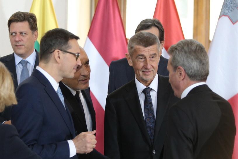Szczyt Przyjaciół Spójności w Pradze /PAP/EPA