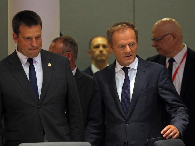 Szczyt UE przerwany przez Donalda Tuska /PAP