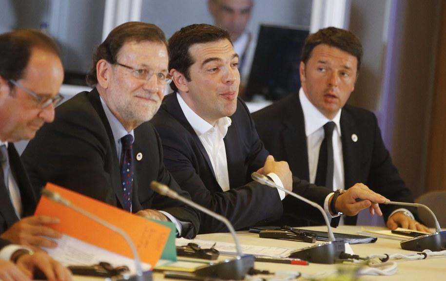 Szczyt UE w Brukseli /OLIVIER HOSLET /PAP/EPA