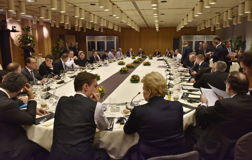 Szczyt UE w Brukseli /MARTIN MEISSNER /PAP/EPA