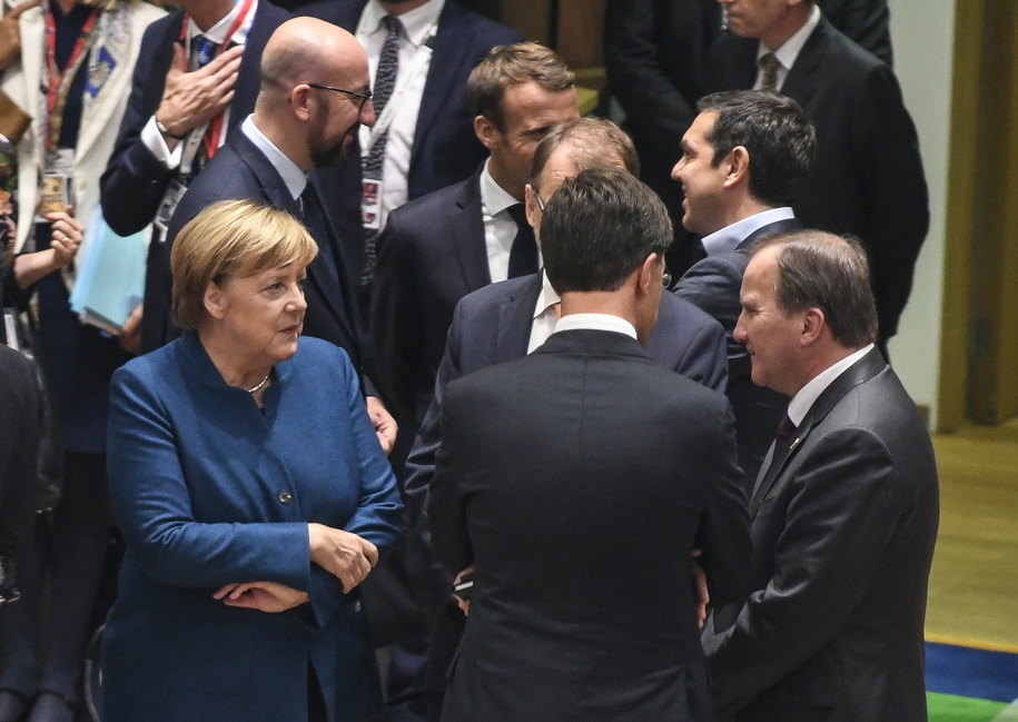 Szczyt UE w Brukseli /PIROSCHKA VAN DE WOUW / POOL /PAP/EPA