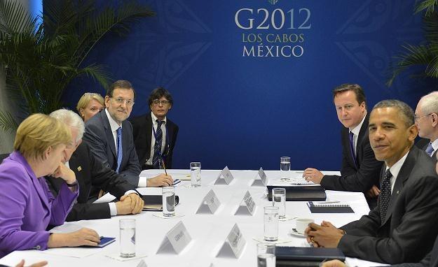 Szczyt w Brukseli ma uratować strefę euro /AFP