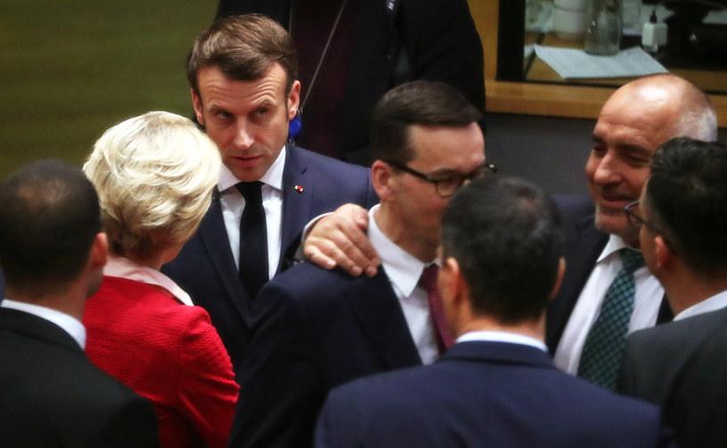 Szczyt w Brukseli /Yves Herman /PAP/EPA