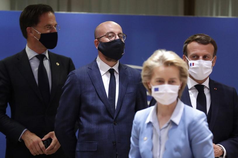 Szczyt w Brukseli /STEPHANIE LECOCQ  /PAP/EPA