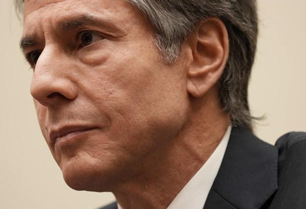 Szef amerykańskiej dyplomacji Antony Blinken /KEN CEDENO / POOL /PAP/EPA