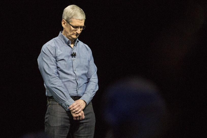 Szef Apple'a Tim Cook /AFP