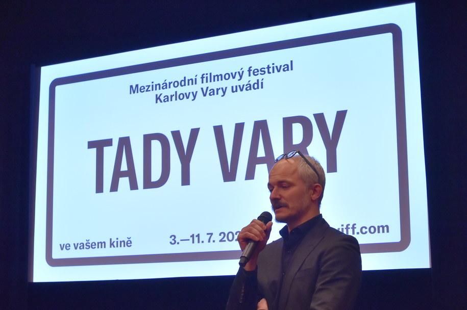 Szef artystyczny MFFKV Karel Och /Slavomir Kubes /PAP/CTK