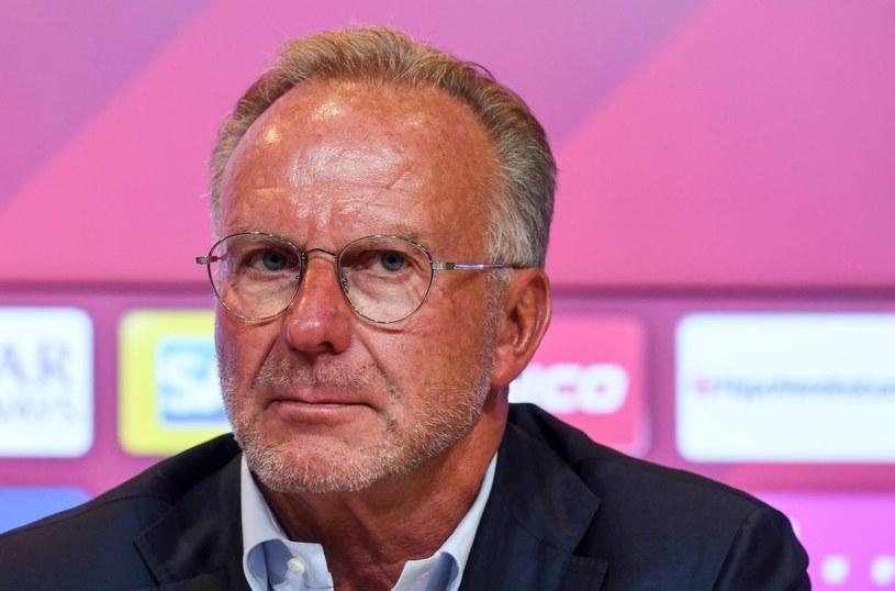 Szef Bayernu Karl-Heinz Rummenigge /AFP