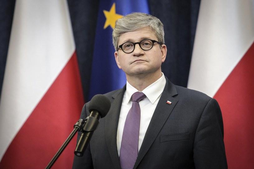 Szef BBN Paweł Soloch /Andrzej Hulimka  /East News