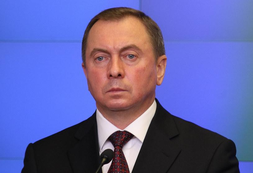 Szef białoruskiego MSZ Uładzimir Makiej /Michal Dyjuk/Reporter /Reporter