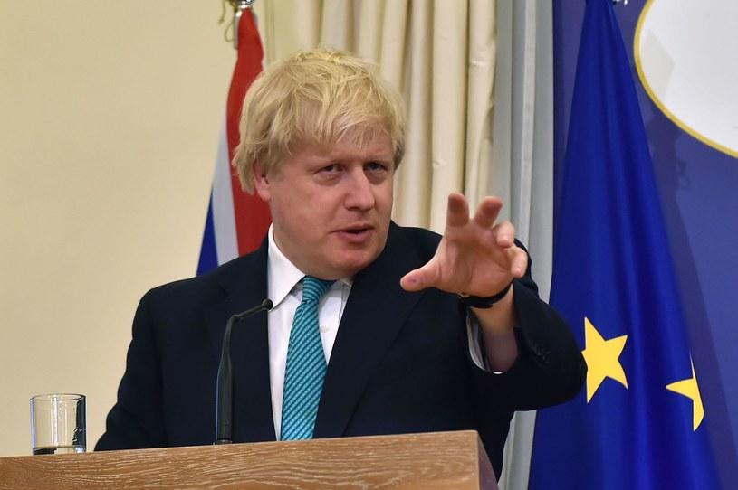 Szef brytyjskiego MSZ Boris Johnson /AFP