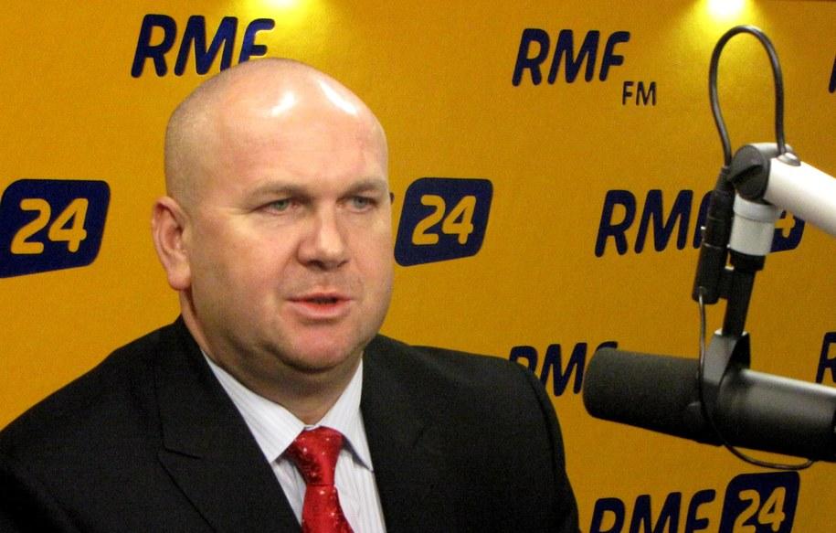 Szef CBA Paweł Wojtunik /Wasilewska Olga /RMF FM