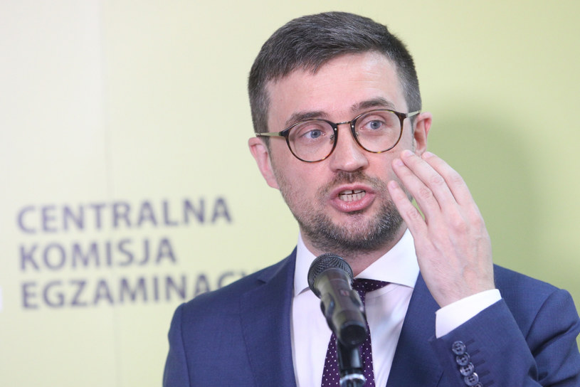 Szef CKE Marcin Smolik /Fot Tomasz Jastrzebowski /Reporter