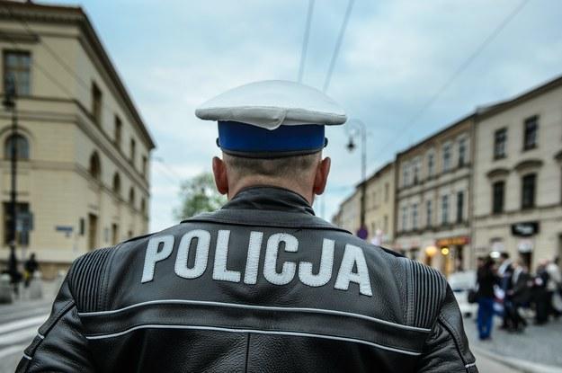 Szef częstochowskiej policji już wcześniej wszczął procedurę wydalenia zatrzymanego ze służby /Wojciech Pacewicz /PAP