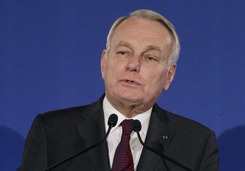 Szef dyplomacji Francji Jean-Marc Ayrault /GEOFFROY VAN DER HASSELT /AFP