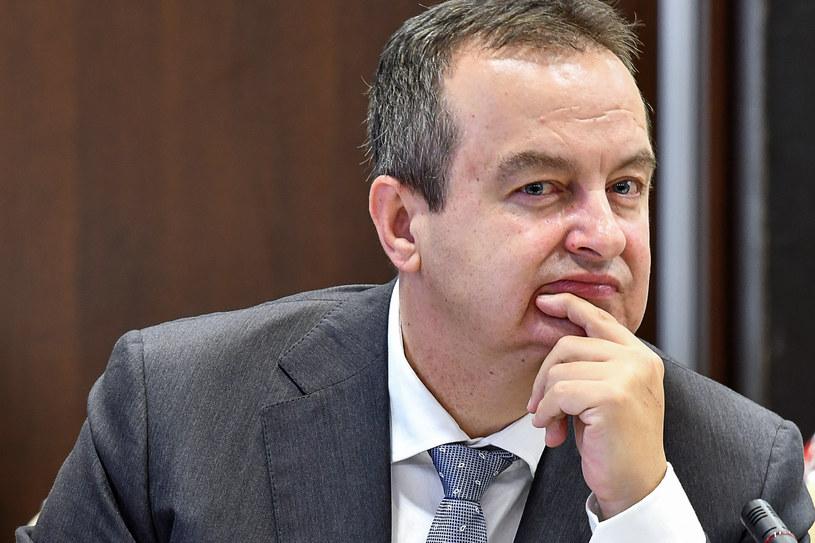 Szef dyplomacji Serbii Ivica Daczić /AFP