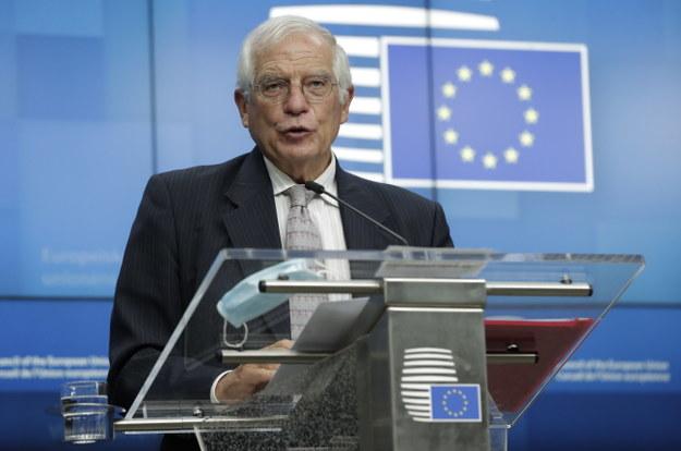 """Szef dyplomacji UE: """"Nie uznajemy Łukaszenki"""". Nie ma decyzji ws. sankcji"""