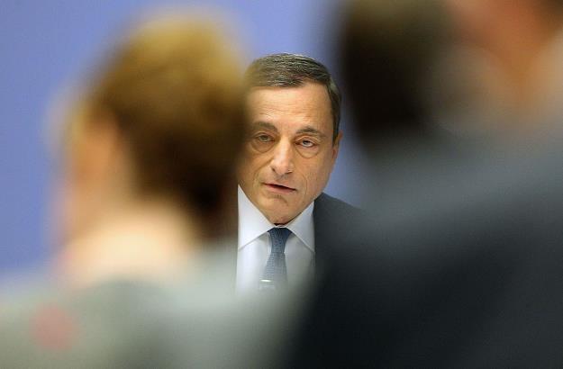 Szef EBC żegna się ze stanowiskiem /AFP