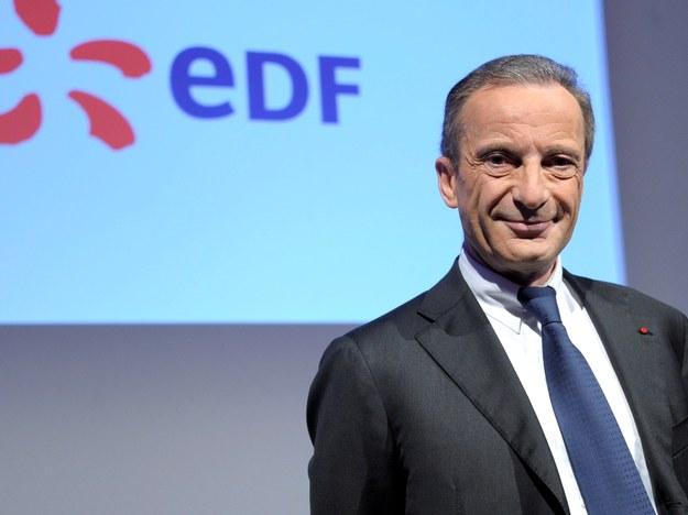 Szef EDF Henri Proglio /Christophe Karaba /PAP/EPA