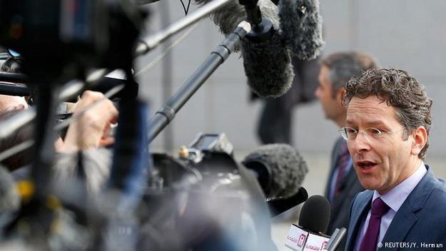 Szef eurogrupy Jeroen Dijsselbloem nie daje Grekom żadnej nadziei na szybkie załatwienie problemu /Deutsche Welle