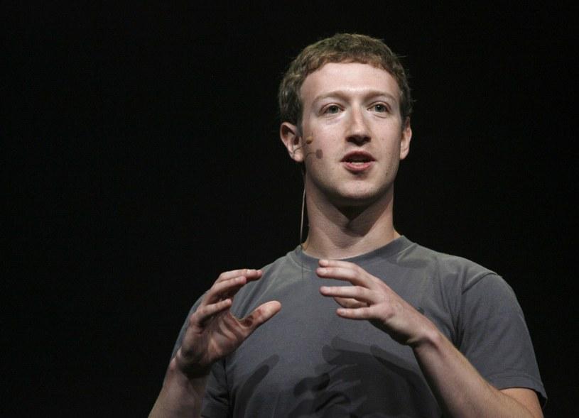 Szef Facebooka powołał ugrupowanie polityczne /KIMIHIRO HOSHINO /AFP
