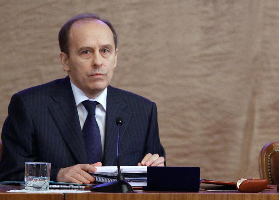 Szef Federalnej Służby Bezpieczeństwa Rosji Aleksandr Bortnikow /VLADIMIR RODIONOV/RIA NOVOSTI /PAP/EPA