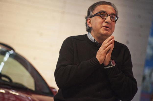 Szef Fiata Sergio Marchionne /AFP