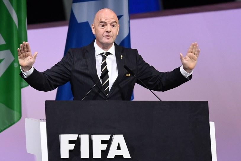 Szef FIFA Gianni Infantino /AFP