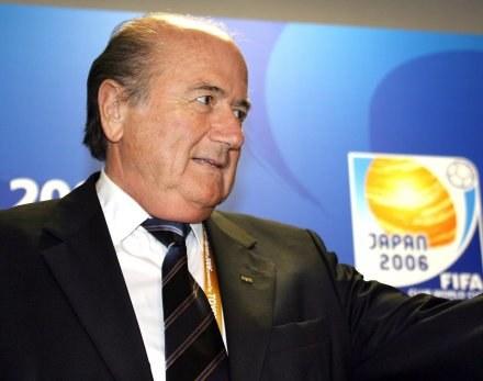 Szef FIFA Sepp Blatter /AFP